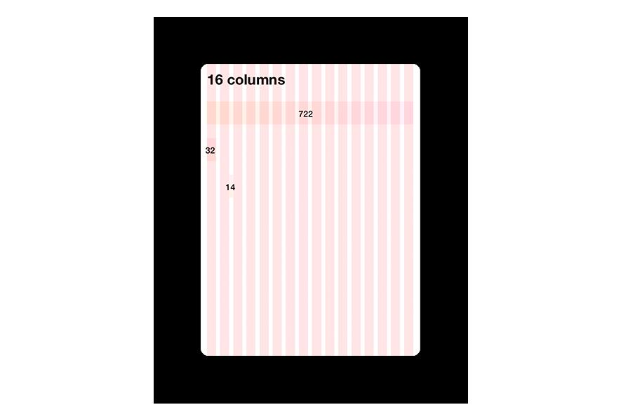 Design System Grid - Medium