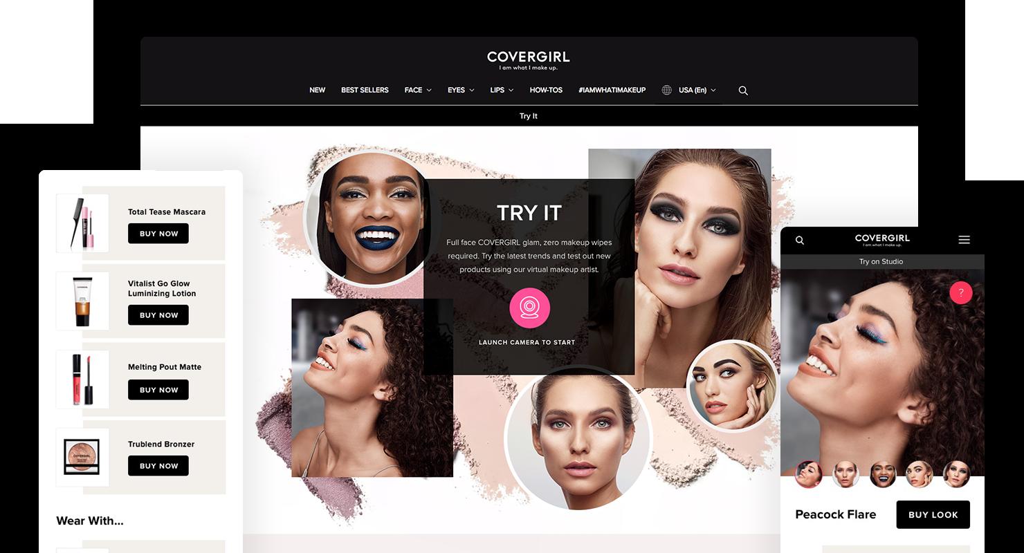 Virtual Makeup Studio