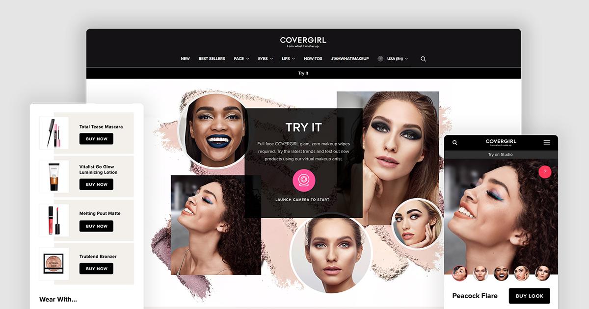 Virtual Makeup Studio Zara Drei